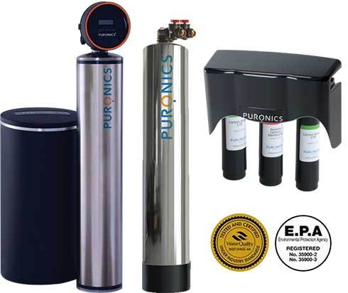 Puronics Terminator iGen Tank Filtration Diagram and Certifications